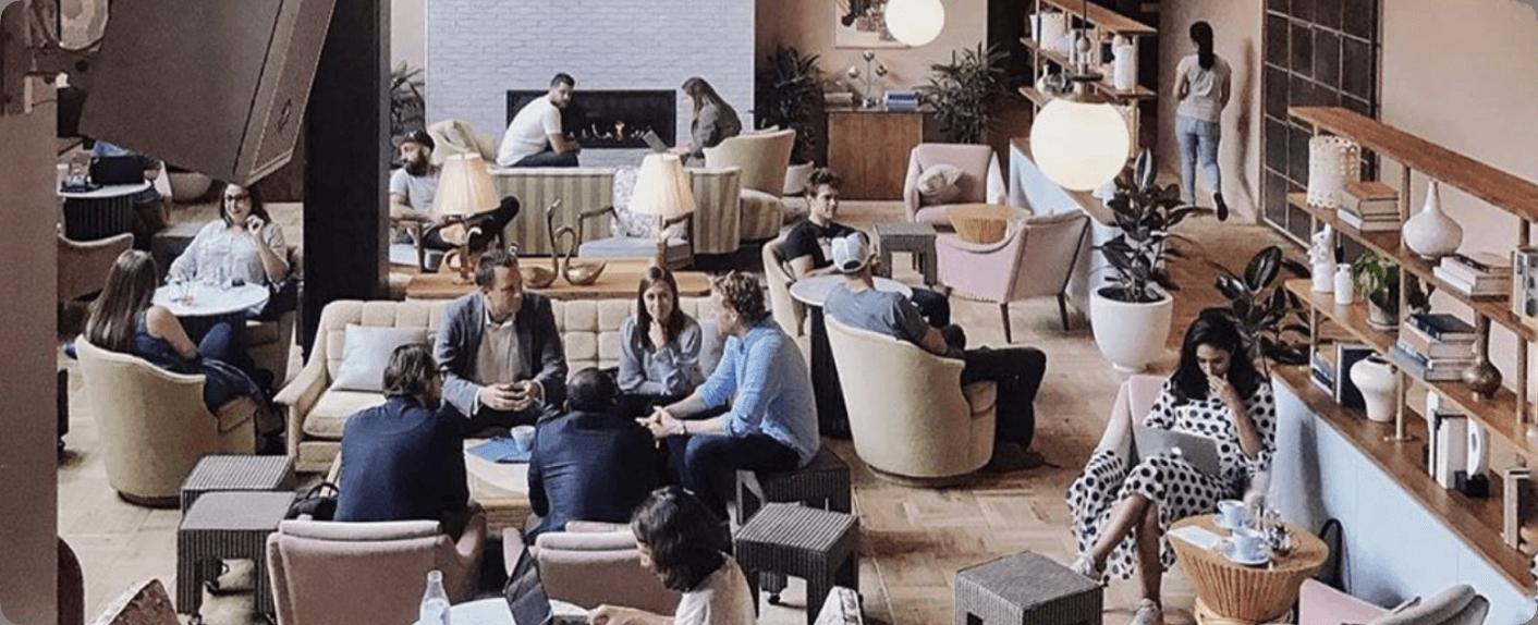 Wireless Social - Guest WiFi - Lounge